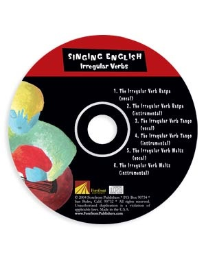 Singing English Irregular Verbs -<br>Student CD</br>
